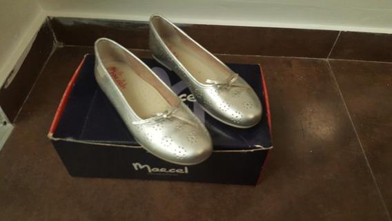 Zapatos Plateados- Hermosos, Impecables!!!