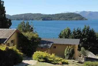 Cabaña En Bariloche Frente Al Lago Hasta 8 Personas
