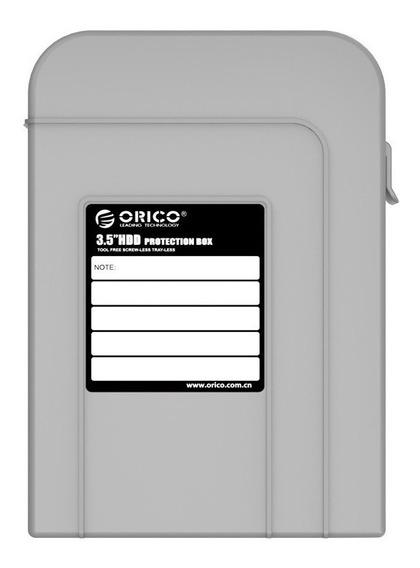 5x Capa Case Estojo P/ Hd 3.5 Orico (escolher Cor Disponível