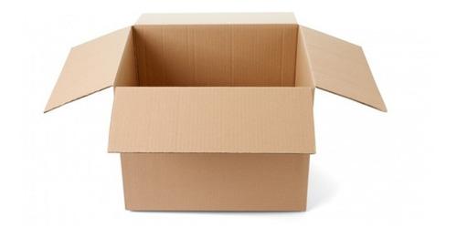 Imagen 1 de 2 de Cajas  Mudanza Pack 10 Cajas 60x40x40 / Cajas Cart Paper