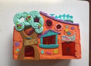 Lote De Littlest Pet Shop Casa,auto.muñecos .