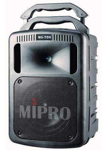 Imagen 1 de 6 de Sitema Portatil Mipro De Audio Ma-708pa