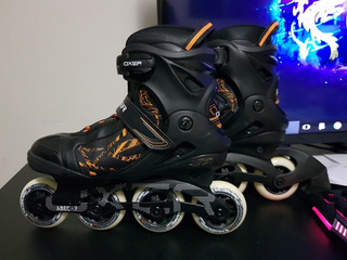 Patins Oxer Byte/in Line/fitness/abec 7/adulto/