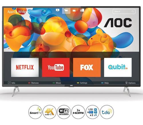 Smart Tv Aoc 50  4k Uhd 50u6295/77