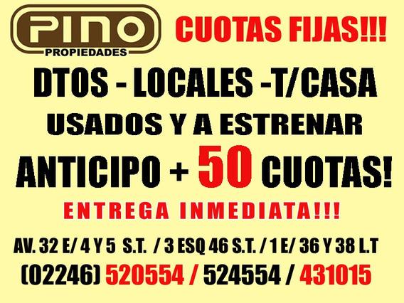 Santa Teresita. Chalecito Con U$ 18.300 Y Saldo 50 Cuotas!!!
