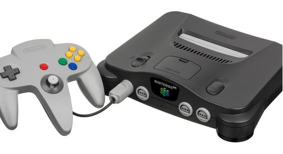 Nintendo 64 Com 1 Controle Mais Um Cartucho A Escolha