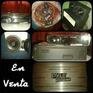 Combo De Sonido Para Carro. Exelente Audio.!!