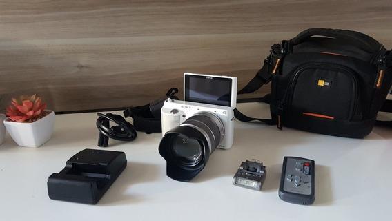 Sony Alpha Nex-f3 C/ E 18-55mm F/3.5-5.6 Oss 4.678 Cliques
