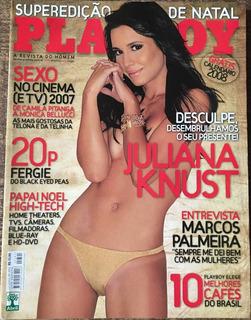 Playboy Juliana Knust - Dezembro De 2007