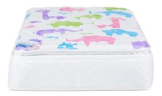Colchón Para Cuna Restonic Confort Tecnología Pillow Top