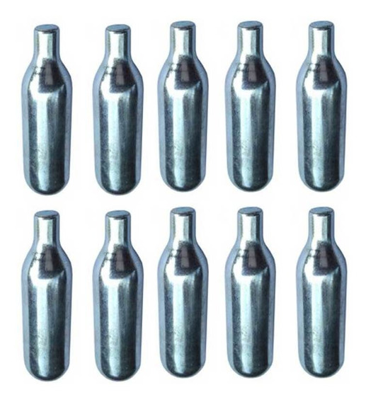 Ampola Capsulas Gas Co2 8g Para Soda Marca Isi Mosa - 10und