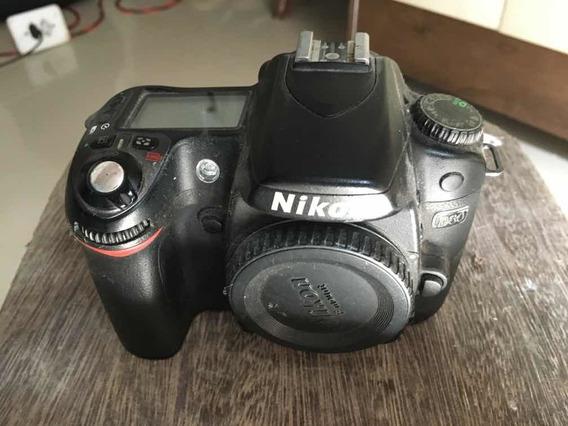 Câmera Nikon D80 Para Retirada De Peças