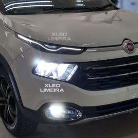 Lâmpadas Fiat Toro Alto Baixo Milha E Leds Interior Toro