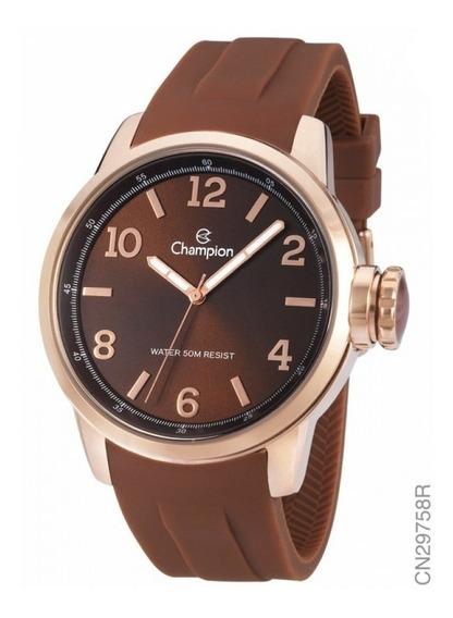 Relógio Champion Feminino Rosé Cn29758r