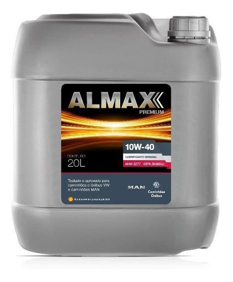 Óleo Lubrificante De Motor Almax Original 10w 40 Sintético