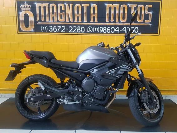 Yamaha Xj 6 N - Abs - 2017- Cinza - Km 10.000