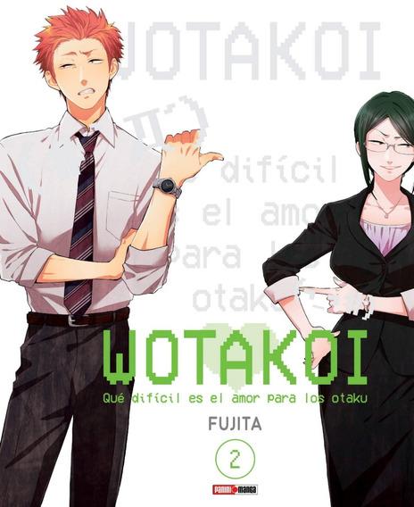 Manga Wotakoi Qué Difícil Es El Amor Para Los Otaku #2 Nuevo