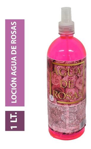 Imagen 1 de 8 de Agua De Rosas Limpiador Facial Tonico Desmaquillante 1lt /p