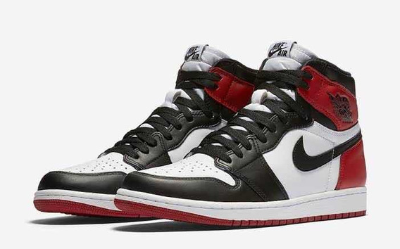 Air Jordan 1 Retro High Og Gs Black Toe