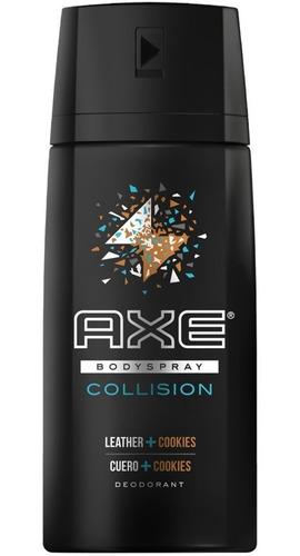 Desodorante Aerosol Axe Collision Cuero + Cookies 150ml