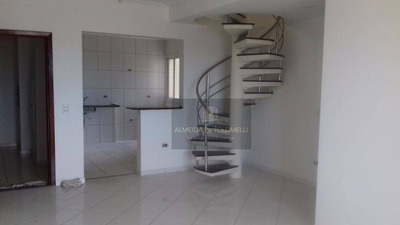 Cobertura Com 4 Dormitórios, 2 Suítes, Área De Lazer Completa No Parque Industrial! - Ad0017