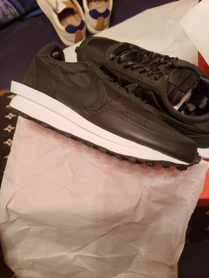 Nike Sacai Ld Waffle Nylon Negro