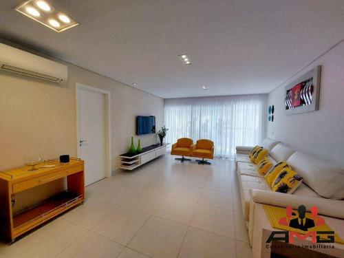 Imagem 1 de 30 de Apartamento Com 4 Dormitórios À Venda, 150 M² Por R$ 3.300.000,00 - Riviera - Módulo 7 - Bertioga/sp - Ap3143