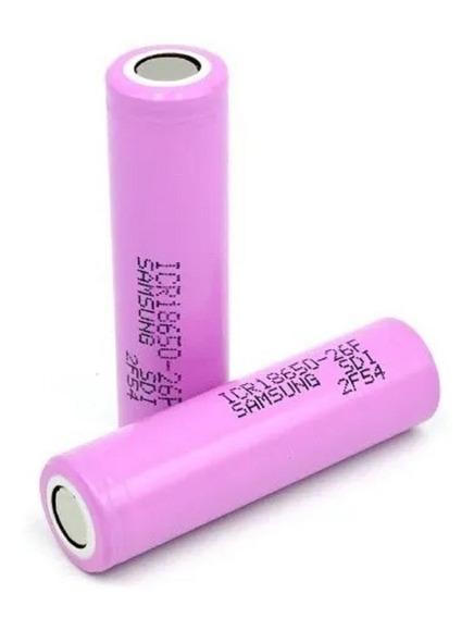 Kit 2 Bateria 18650 2600mah Samsung Original