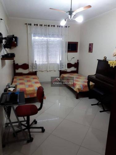 Apartamento À Venda, 90 M² Por R$ 436.000,00 - Embaré - Santos/sp - Ap2588