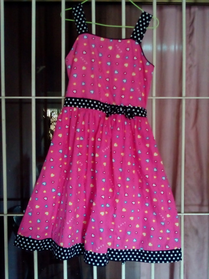 Vestido Casuales De Niña Talla 4 Y 12