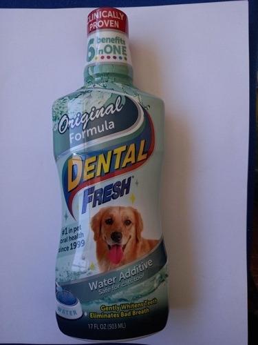 Dental Fresh 503ml 17 Onzas Enjuage Bucal Perros Y Aditivo