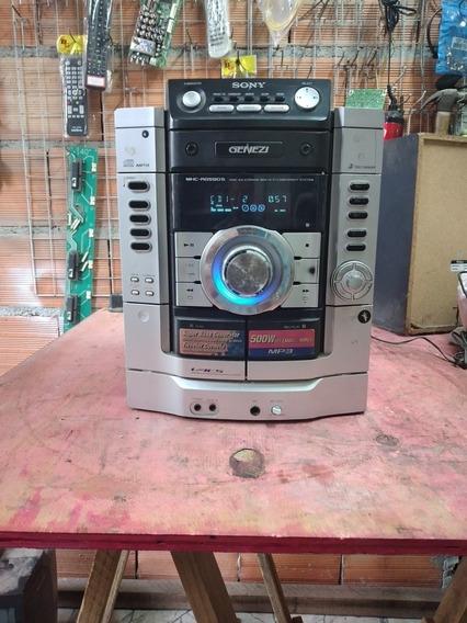 Som Sony Hcd Rg590 Defeito Na Saída Para Conserto Ou Peças
