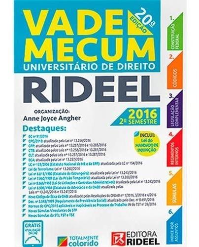 Vade Mecum Universitário Rideel