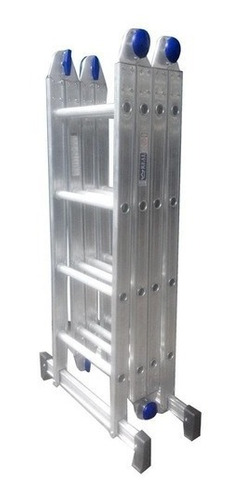 Escada Articulada 4x3 Em Aluminio