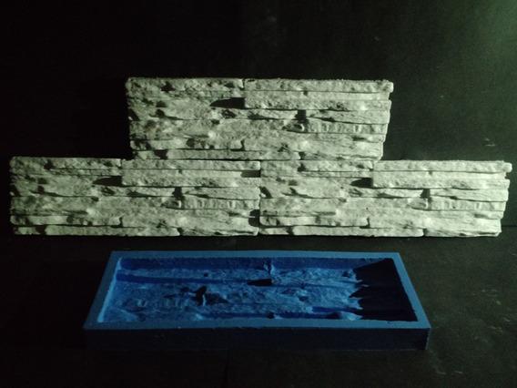 Forma 100 % Silicone Mosaico 3d Gesso Canjiquinha 10,5x34 Cm