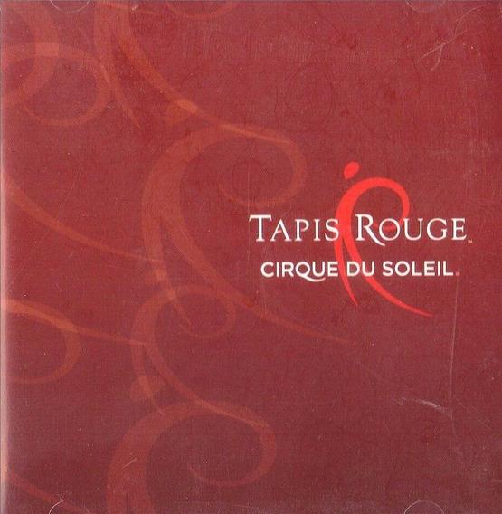 Cd Lacrado Cirque Du Soleil Tapis Rouge 2007