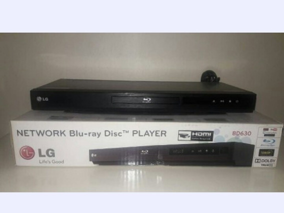 Blu-ray Lg Modelo: Bd 630 Hdmi Usado
