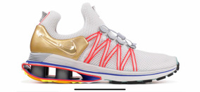 Nike Shox Gravity Metalic Gold Original Importado No. 42