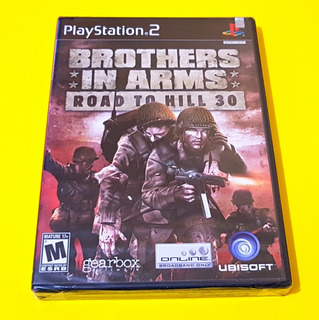 Brothers In Arms Road To Hill 30 Ps2 Nuevo Sellado