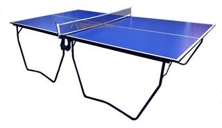 Mesa De Ping Pong Profesional Pleg 4ruedas Incl Red La Mejor