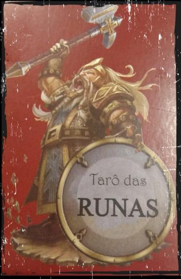 Tarô Das Runas + 25 Cartas + Livreto M.a.m
