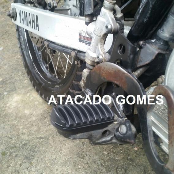 Pedal De Borracha Dianteira E Traseira Xtz 250, Xtz 125, Lander Tenere Crosser