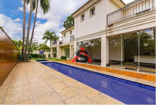 Sobrado Com 4 Dormitórios À Venda, 720 M² Por R$ 8.500.000,00 - Jardim Petrópolis - São Paulo/sp - So5329