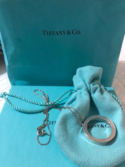 Dije Colgante Circular Tiffany & Co. En Plata