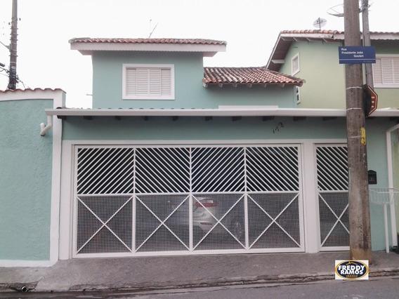 Sobrado A Venda No Bairro Jardim Camila Em Mogi Das Cruzes - - 9-1