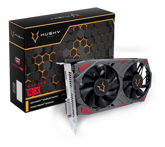 Placa De Vídeo Amd Radeon Series Rx560 4gb Gddr5 Nova Nfe