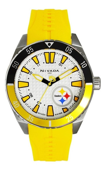 Reloj Nivada Pittsburgh Steelers Edición Limitada Exclusivo