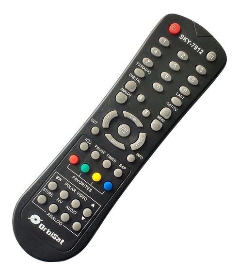 Controle Receptor De Parabólica Orbisat S2200 Digital