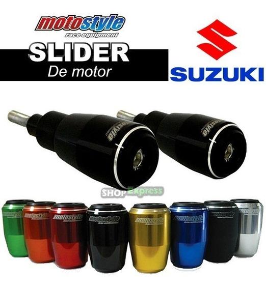 Slider Suzuki Gsx 750f 98/08 + Brindes