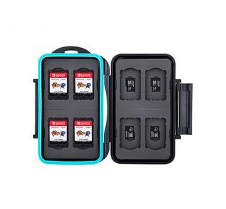 Estuche Para 8 Tarjetas Micro Sd Y Cartuchos Nintendo Switch
